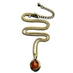 Ожерелье «Янтарная рапсодия»