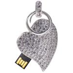 USB-кулон с кристаллами